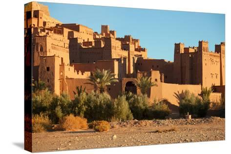 Ait Benhaddou is a Fortified City, or Ksar, along the Former Caravan Route between the Sahara and M-A_nella-Stretched Canvas Print