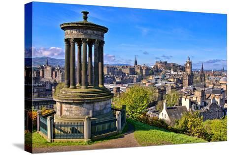 Classic Edinburgh View-Jeni Foto-Stretched Canvas Print