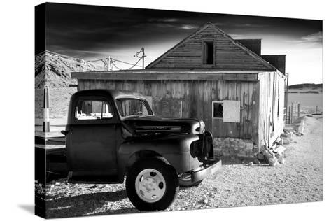 Old Truck and General Store-Scott Prokop Photography-Stretched Canvas Print
