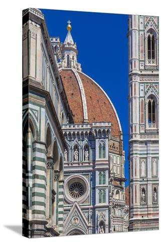 Details Cathedral Florence-CreativeNaturePhotography-Stretched Canvas Print