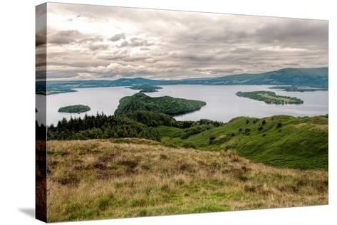 Loch Lomond-danielbarquero-Stretched Canvas Print