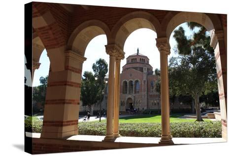 Building of University-Radist-Stretched Canvas Print