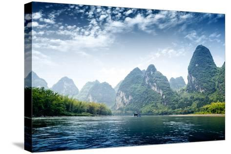 Guilin-liufuyu-Stretched Canvas Print