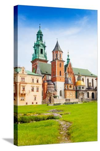 Close View of Royal Archcathedral Basilica-SerrNovik-Stretched Canvas Print