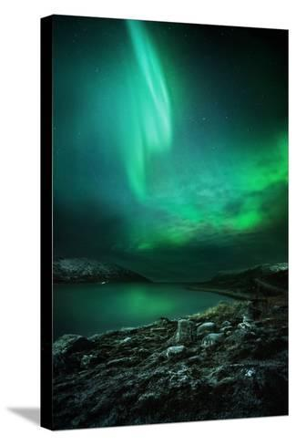 The Northern Lights Rising-Solarseven-Stretched Canvas Print