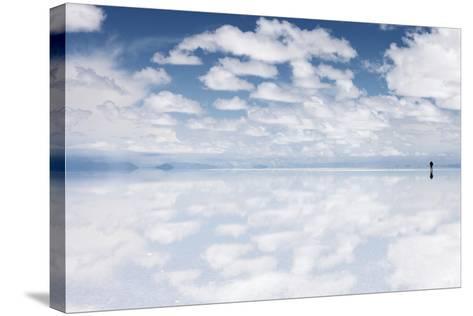 Salar De Uyuni, Salt Flat in Bolivia - Biggest Salt Lak? in the World-zanskar-Stretched Canvas Print