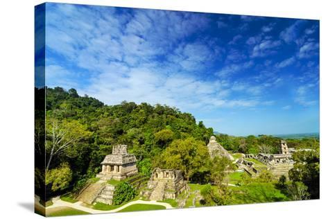 Palenque View-jkraft5-Stretched Canvas Print