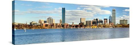 Financial District of Boston, Massachusetts-SeanPavonePhoto-Stretched Canvas Print
