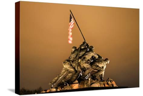 The Marine Corps War Memorial Washington Dc-BILLPERRY-Stretched Canvas Print