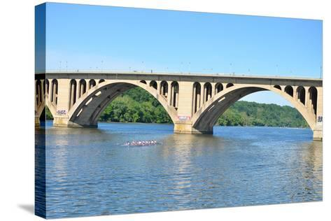Key Bridge - Washington DC-Orhan-Stretched Canvas Print