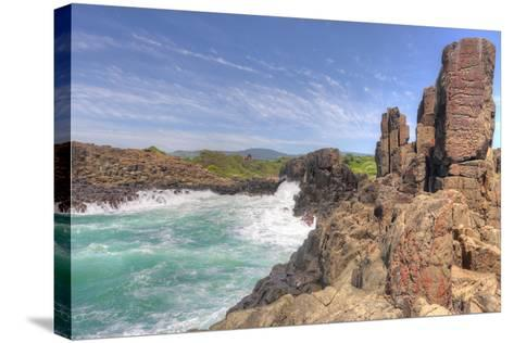 Bomboheadland Kiama Nsw Australia-lovleah-Stretched Canvas Print
