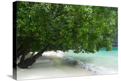 Hong Island Beach in Krabi Thailand-weltreisendertj-Stretched Canvas Print