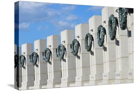 Washington DC - World War II Memorial-Orhan-Stretched Canvas Print