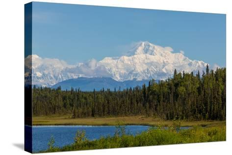 Denali (Mckinley) Peak in Alaska, USA-Andrushko Galyna-Stretched Canvas Print
