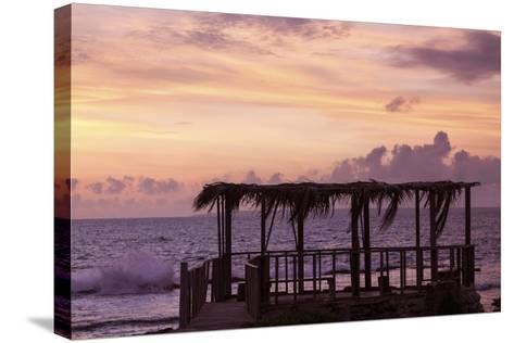 Tongan Sunset - Eua Island-benkrut-Stretched Canvas Print