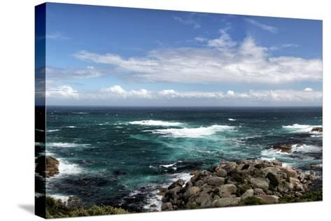 Rocky Coast near Cape Town-dirkr-Stretched Canvas Print