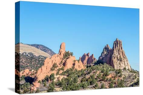 Garden of the Gods-brm1949-Stretched Canvas Print