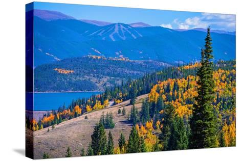 Dillon Silverthorne Colorado-duallogic-Stretched Canvas Print