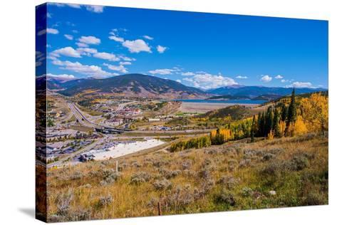 Silverthorne Colorado-duallogic-Stretched Canvas Print