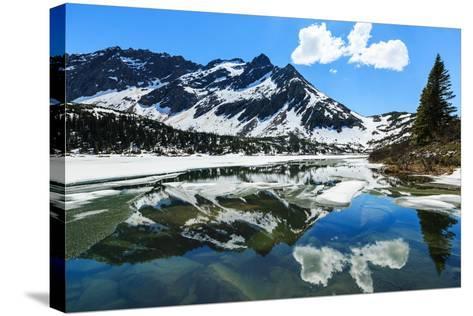 Skagway. Alaska-sorincolac-Stretched Canvas Print