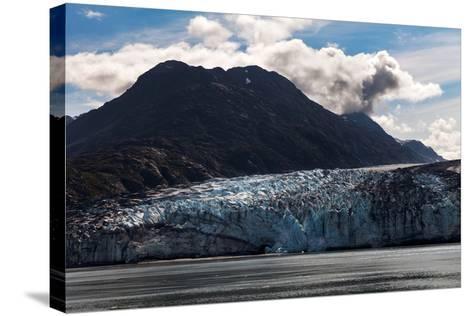 Glacier-devon-Stretched Canvas Print