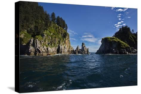 Appealing Perspective of Kenai Fjords National Park-fmcginn-Stretched Canvas Print