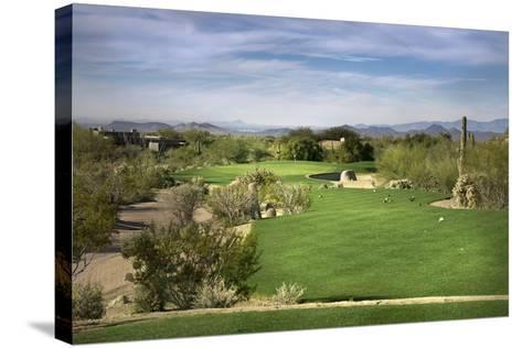 Golf Course Fairway, Scottsdale,Arizona,Usa-BCFC-Stretched Canvas Print