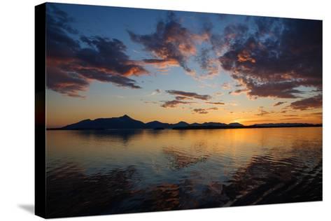 Sunset-Dimarik-Stretched Canvas Print