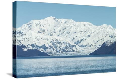 Hubbard Glacier in Yakutat Bay, Alaska.-jirivondrous-Stretched Canvas Print