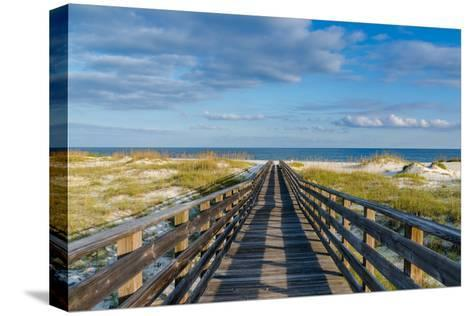 To the Gulf-Darryl Vest-Stretched Canvas Print
