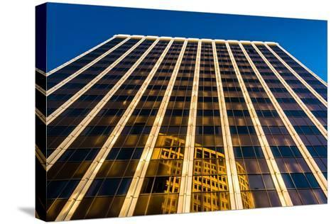 Evening Light on the Pnc Bank Building in Downtown Wilmington, Delaware.-Jon Bilous-Stretched Canvas Print