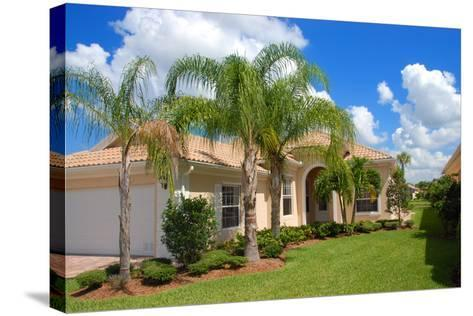 Florida Home-Yarex-Stretched Canvas Print