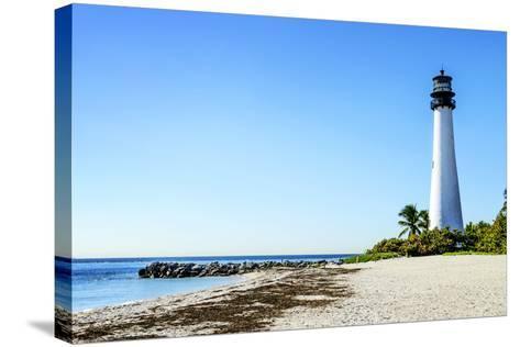 Cape Florida-vent du sud-Stretched Canvas Print