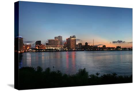 New Orleans Cityscape at Sunset-jpegisclair-Stretched Canvas Print
