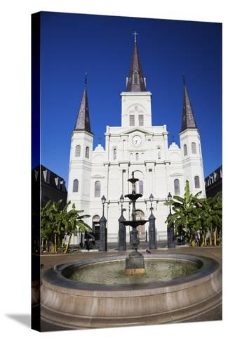 St. Louis Cathedral-benkrut-Stretched Canvas Print