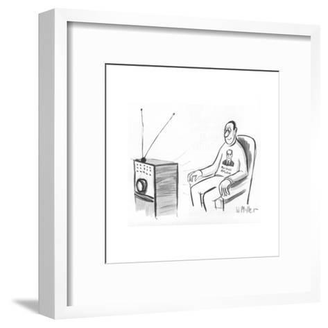 New Yorker Cartoon-Warren Miller-Framed Art Print