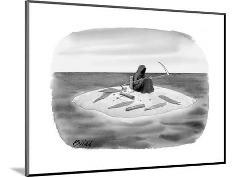 New Yorker Cartoon-Harry Bliss-Mounted Premium Giclee Print