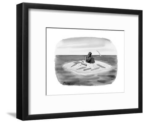 New Yorker Cartoon-Harry Bliss-Framed Art Print