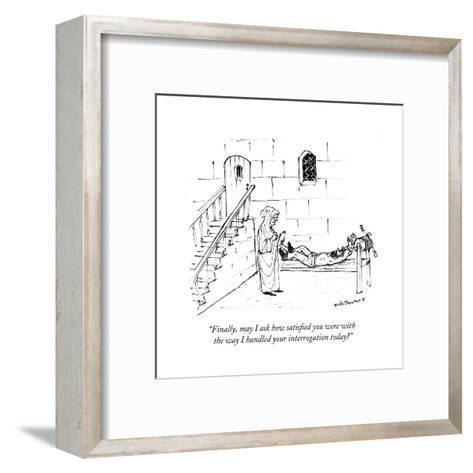 Cartoon-Nick Downes-Framed Art Print