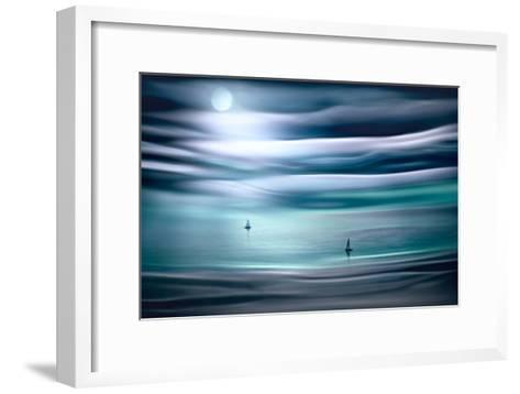 Sailing by Moonlight-Ursula Abresch-Framed Art Print