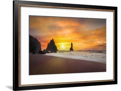 The Golden Sunlight-Marco Carmassi-Framed Art Print