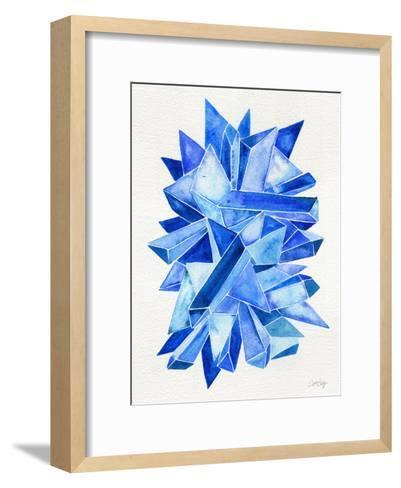 Sapphire-Cat Coquillette-Framed Art Print