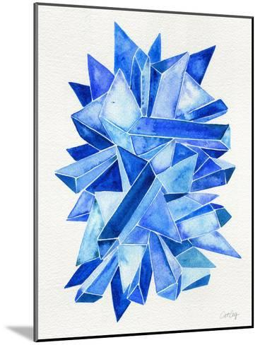 Sapphire-Cat Coquillette-Mounted Giclee Print