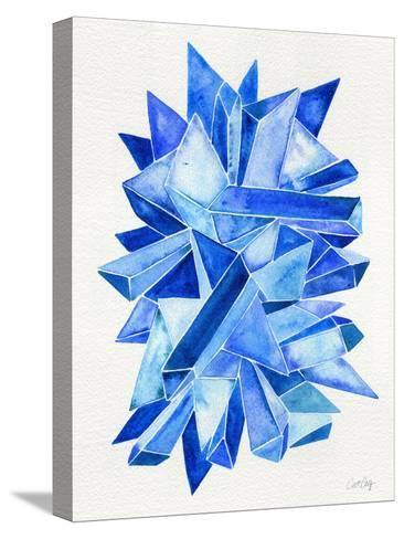 Sapphire-Cat Coquillette-Stretched Canvas Print