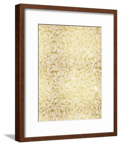 Knee Deep in Gold Ink-Cat Coquillette-Framed Art Print