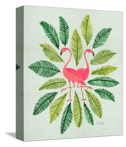 Flamingos-Cat Coquillette-Stretched Canvas Print