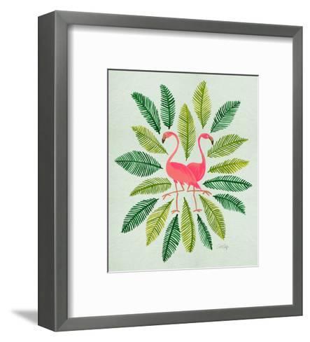 Flamingos-Cat Coquillette-Framed Art Print