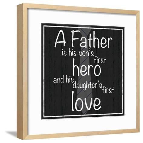 Father Hero-Lauren Gibbons-Framed Art Print