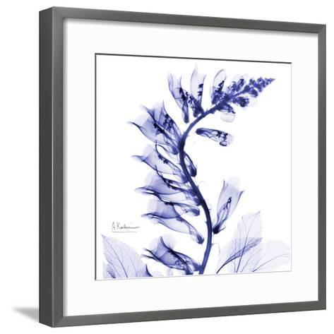 Navy Foxglove-Albert Koetsier-Framed Art Print