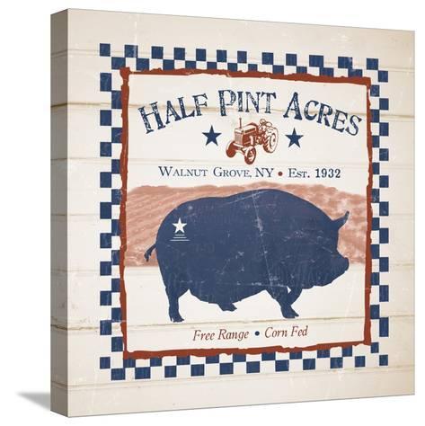Half Pint Acres-Diane Stimson-Stretched Canvas Print